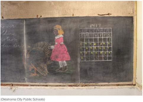OKC Schools Chalkboard