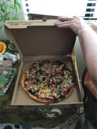 bday pizza