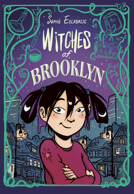 Cover of Witches of Brooklyn by Sophie Escabasse